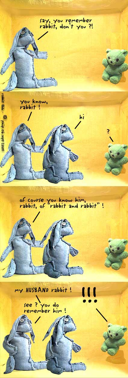 rabbit, from