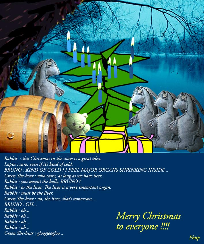 a rabbit's christmas carol