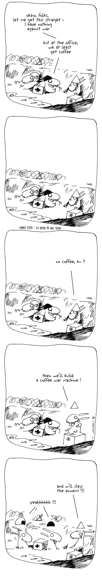 no coffee, hu