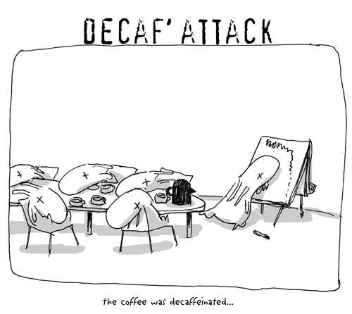 decaf' attack