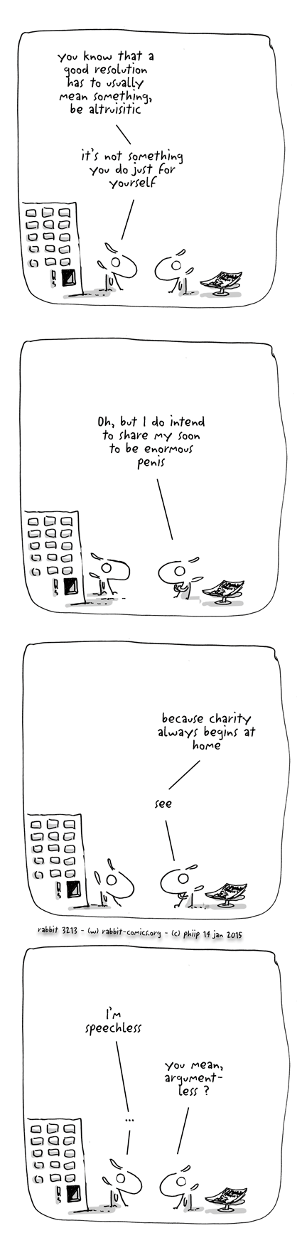charity always begins at home